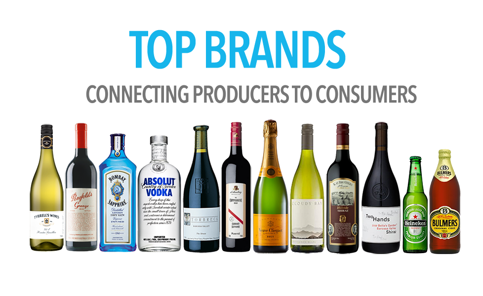 Cellar Link Marketplace Top Brands